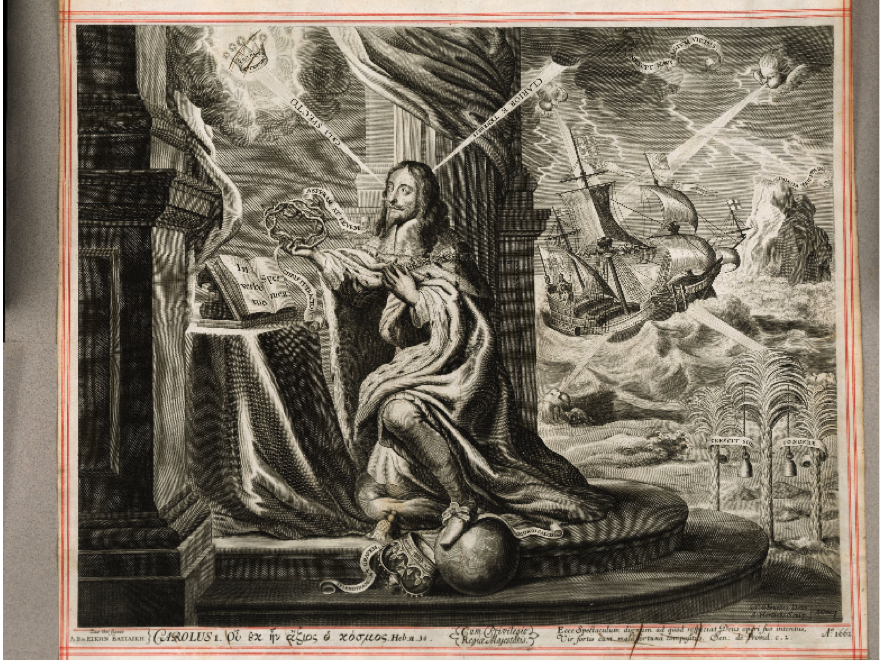 Image of Charles I from Eikon Basilike